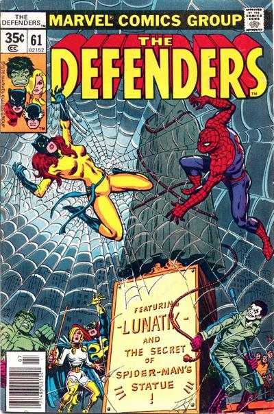 Cover for The Defenders (Marvel, 1972 series) #61