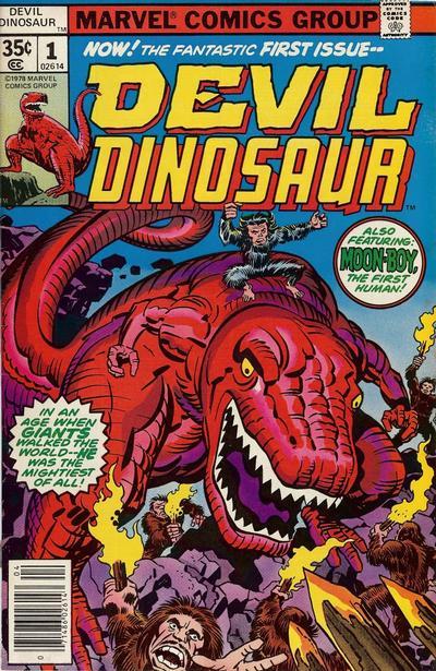 Cover for Devil Dinosaur (Marvel, 1978 series) #1
