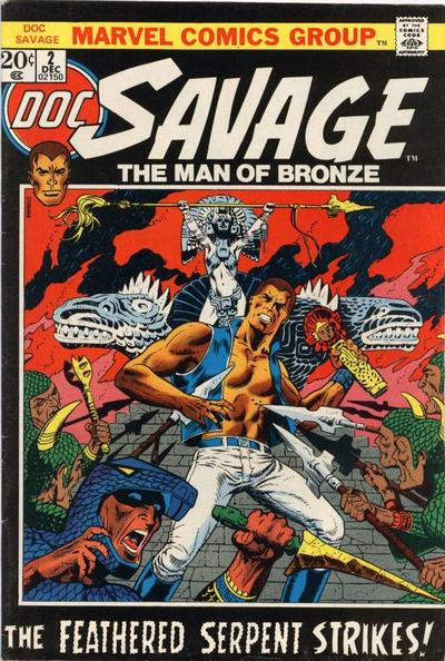 Cover for Doc Savage (Marvel, 1972 series) #2