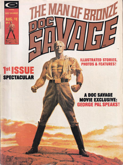 Cover for Doc Savage (Marvel, 1975 series) #1