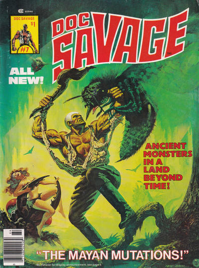 Cover for Doc Savage (Marvel, 1975 series) #7