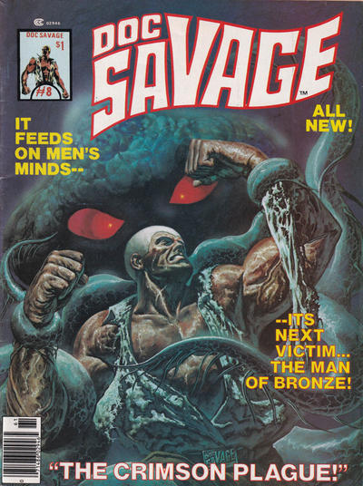 Cover for Doc Savage (Marvel, 1975 series) #8