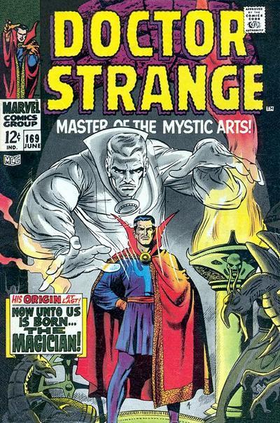 Cover for Doctor Strange (Marvel, 1968 series) #169