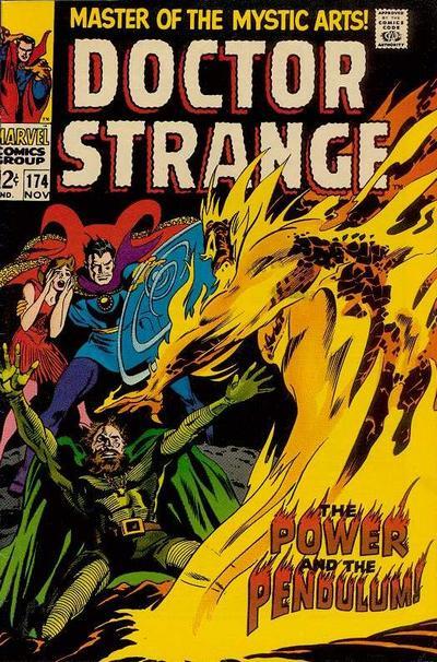Cover for Doctor Strange (Marvel, 1968 series) #174