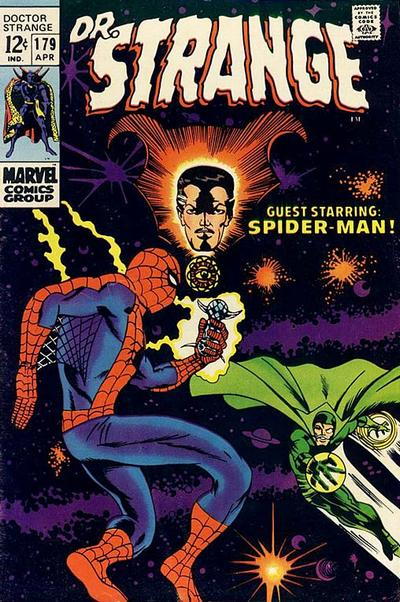 Cover for Doctor Strange (Marvel, 1968 series) #179