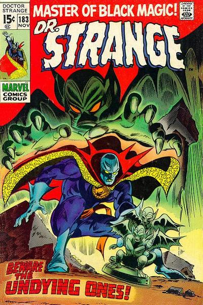 Cover for Doctor Strange (Marvel, 1968 series) #183