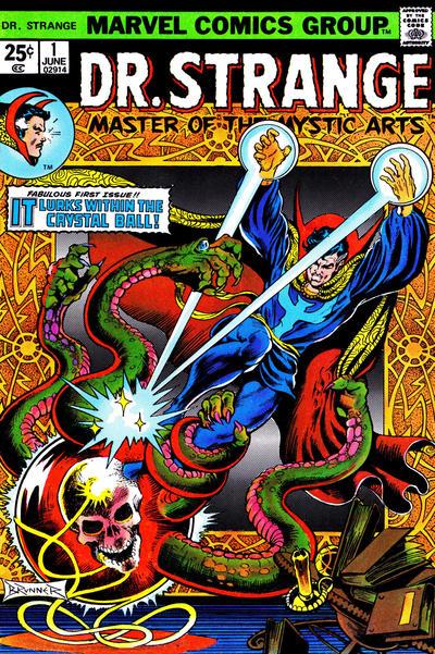 Cover for Doctor Strange (Marvel, 1974 series) #1