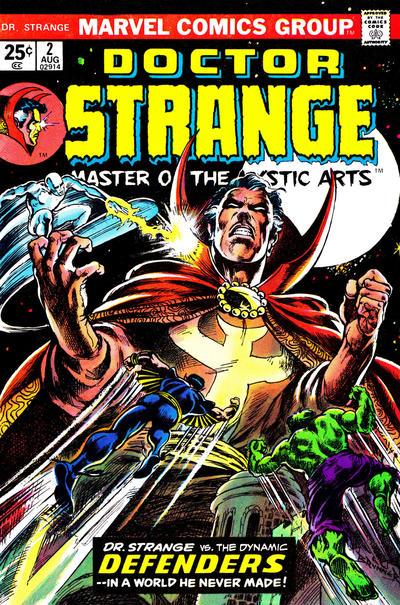 Cover for Doctor Strange (Marvel, 1974 series) #2