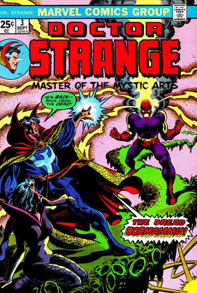 Cover for Doctor Strange (Marvel, 1974 series) #3