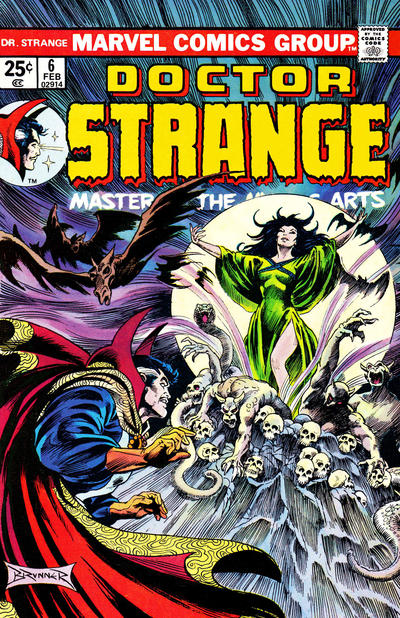Cover for Doctor Strange (Marvel, 1974 series) #6