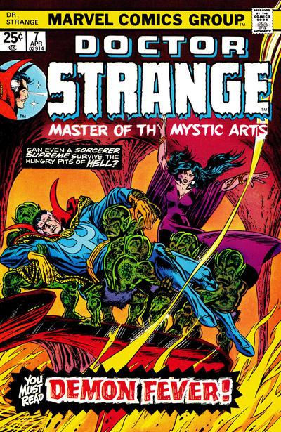 Cover for Doctor Strange (Marvel, 1974 series) #7 [Regular Edition]