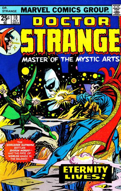 Cover for Doctor Strange (Marvel, 1974 series) #10
