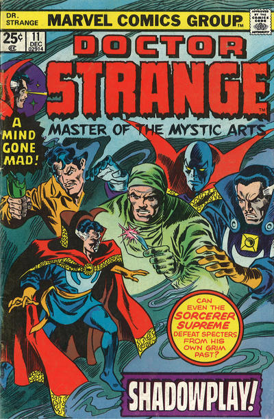 Cover for Doctor Strange (Marvel, 1974 series) #11 [Regular Edition]