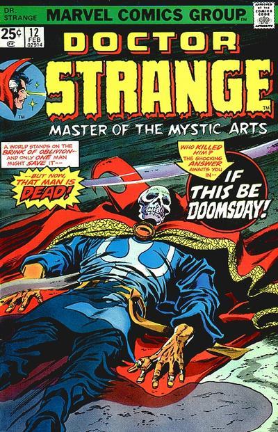 Cover for Doctor Strange (Marvel, 1974 series) #12 [Regular Edition]
