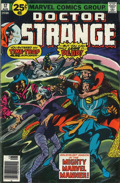 Cover for Doctor Strange (Marvel, 1974 series) #17 [30¢ Price Variant]