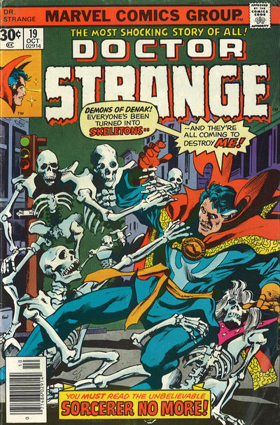 Cover for Doctor Strange (Marvel, 1974 series) #19 [Regular Edition]