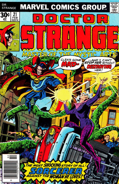 Cover for Doctor Strange (Marvel, 1974 series) #21 [Regular Edition]