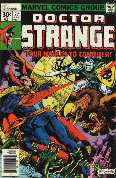 Cover for Doctor Strange (Marvel, 1974 series) #22