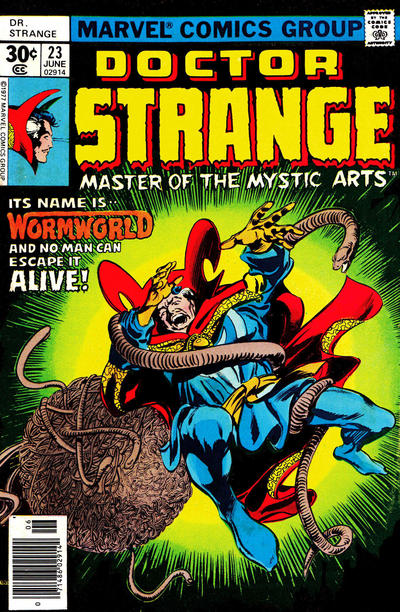 Cover for Doctor Strange (Marvel, 1974 series) #23 [30¢ Cover Price]