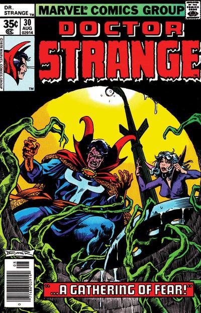 Cover for Doctor Strange (Marvel, 1974 series) #30 [Regular Edition]