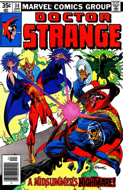 Cover for Doctor Strange (Marvel, 1974 series) #34 [Regular Edition]