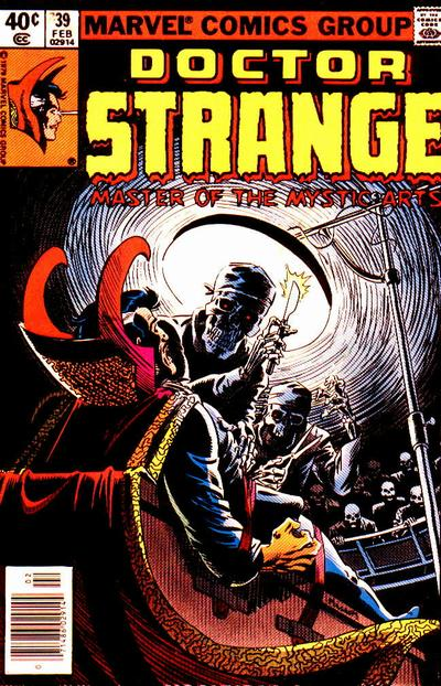 Cover for Doctor Strange (Marvel, 1974 series) #39 [Direct Edition]
