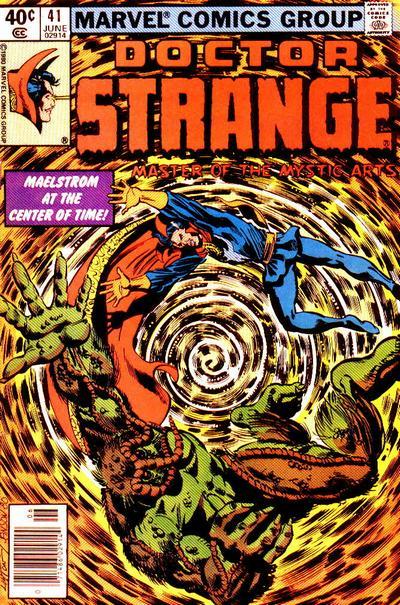 Cover for Doctor Strange (Marvel, 1974 series) #41 [Direct Edition]