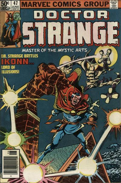 Cover for Doctor Strange (Marvel, 1974 series) #47 [Direct Edition]