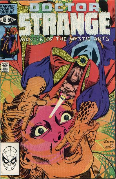 Cover for Doctor Strange (Marvel, 1974 series) #50 [Direct Edition]