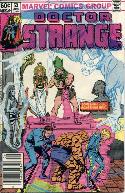 Cover for Doctor Strange (Marvel, 1974 series) #53 [Direct Edition]