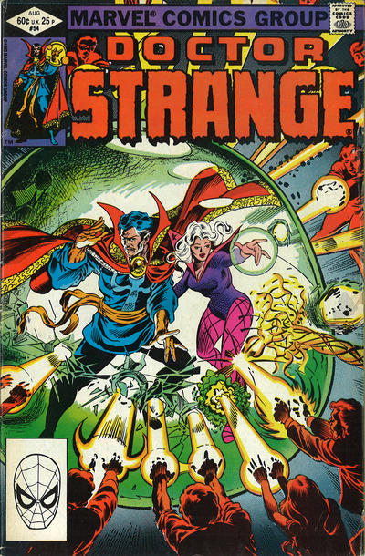 Cover for Doctor Strange (Marvel, 1974 series) #54 [Direct Edition]