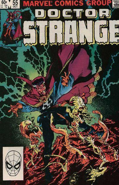 Cover for Doctor Strange (Marvel, 1974 series) #55 [Direct Edition]