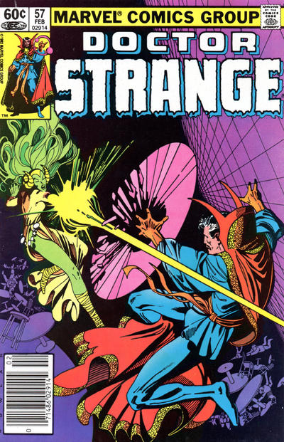 Cover for Doctor Strange (Marvel, 1974 series) #57 [Direct Edition]