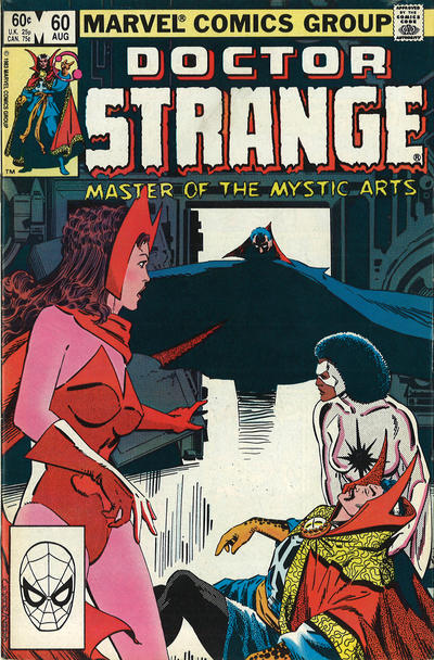 Cover for Doctor Strange (Marvel, 1974 series) #60 [Direct Edition]