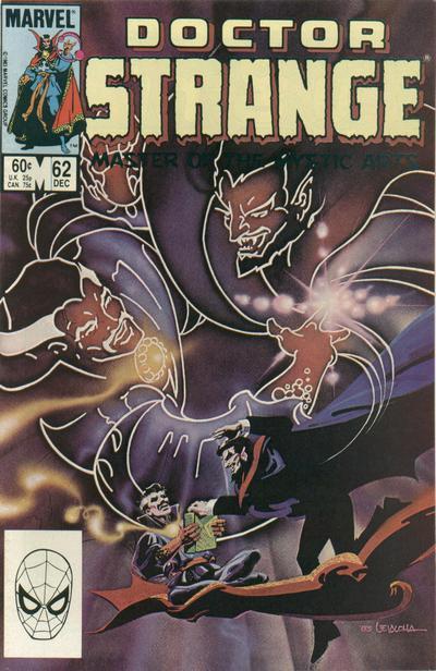 Cover for Doctor Strange (Marvel, 1974 series) #62 [Direct Edition]
