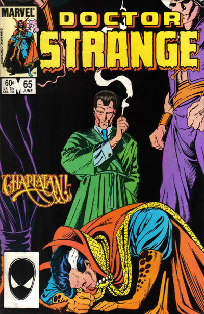 Cover for Doctor Strange (Marvel, 1974 series) #65 [Direct Edition]
