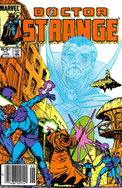 Cover for Doctor Strange (Marvel, 1974 series) #71 [Direct Edition]