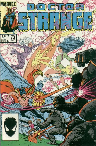 Cover for Doctor Strange (Marvel, 1974 series) #73 [Newsstand Edition]