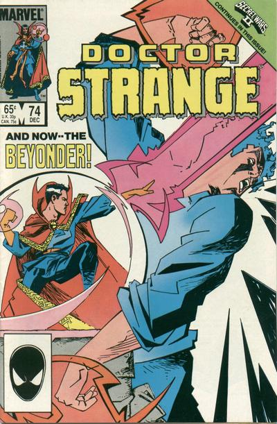 Cover for Doctor Strange (Marvel, 1974 series) #74 [Direct Edition]