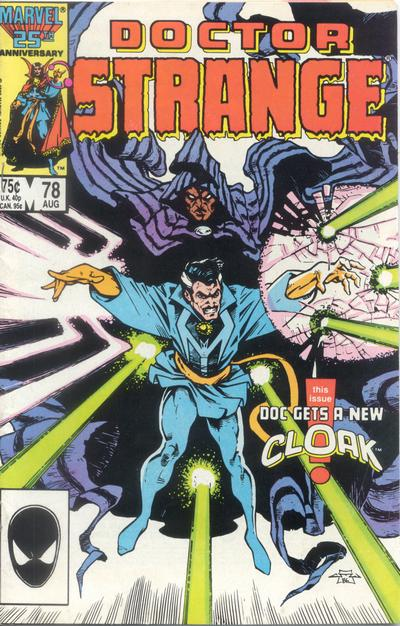 Cover for Doctor Strange (Marvel, 1974 series) #78 [Direct Edition]