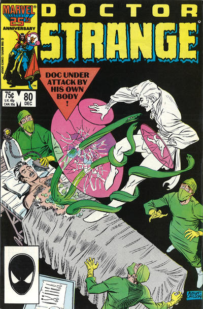Cover for Doctor Strange (Marvel, 1974 series) #80 [Direct Edition]