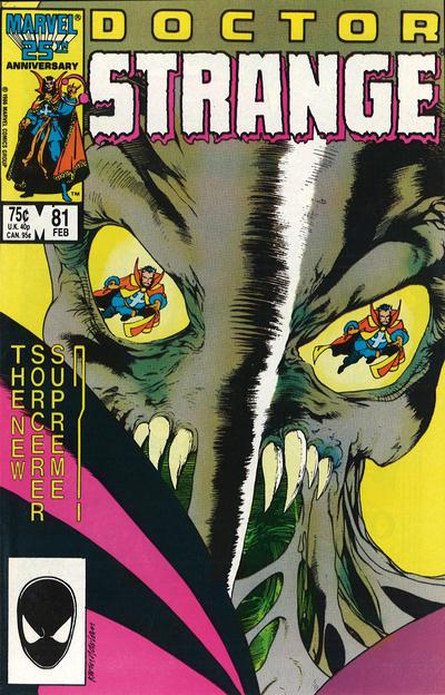Cover for Doctor Strange (Marvel, 1974 series) #81 [Direct Edition]