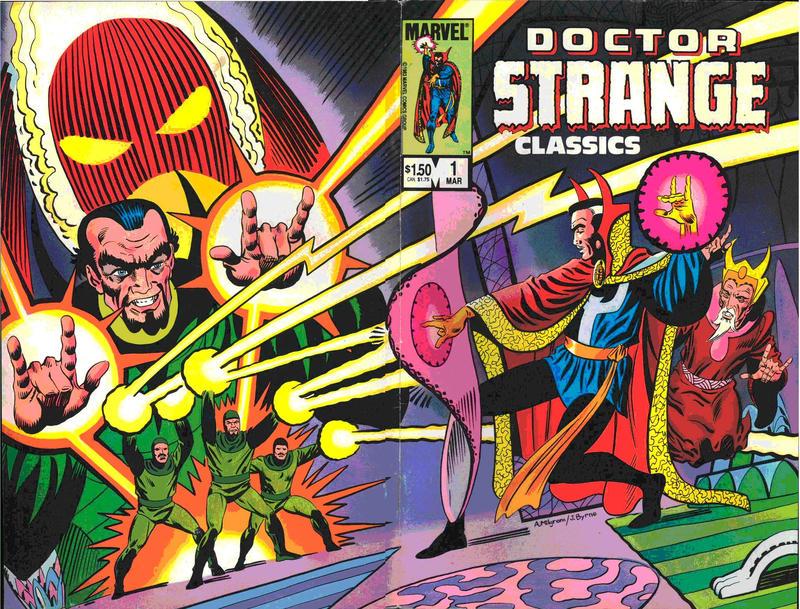 Cover for Doctor Strange Classics Starring Doctor Strange (Marvel, 1984 series) #1
