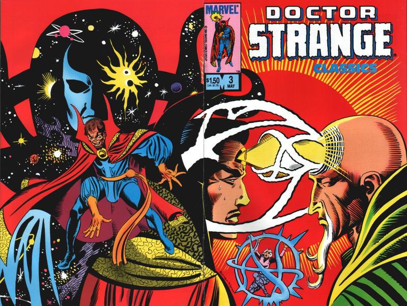 Cover for Doctor Strange Classics Starring Doctor Strange (Marvel, 1984 series) #3