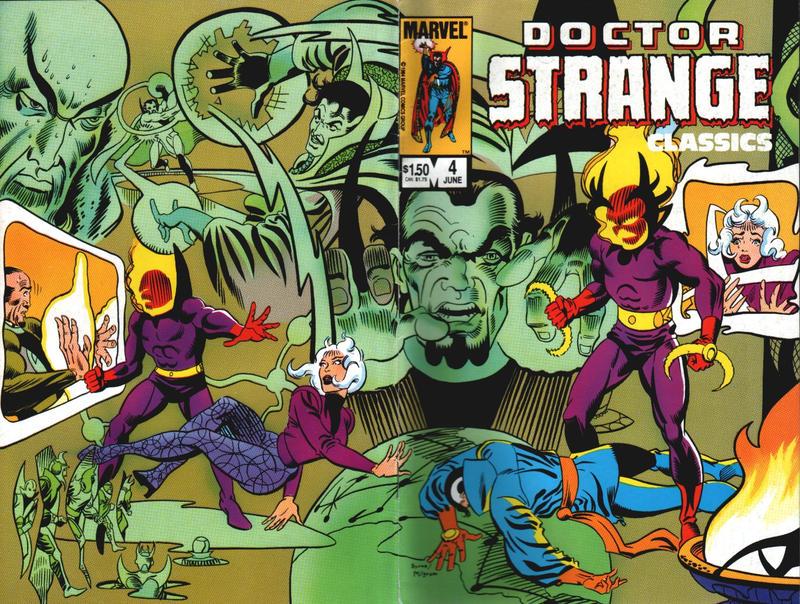 Cover for Doctor Strange Classics Starring Doctor Strange (Marvel, 1984 series) #4