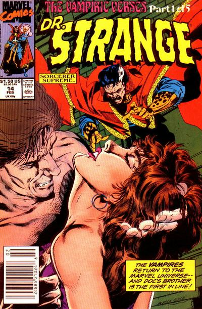 Cover for Doctor Strange, Sorcerer Supreme (Marvel, 1988 series) #14