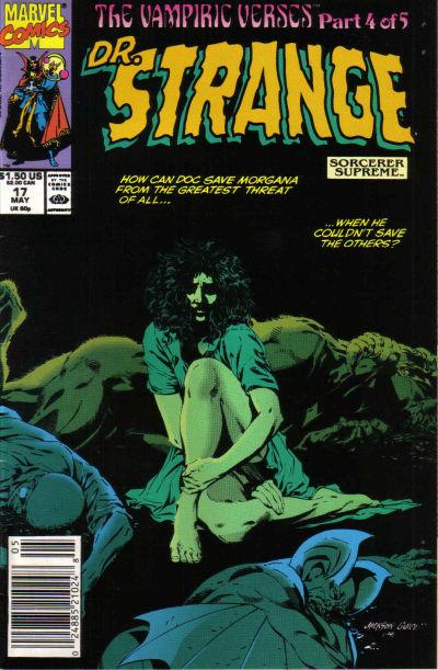 Cover for Doctor Strange, Sorcerer Supreme (Marvel, 1988 series) #17