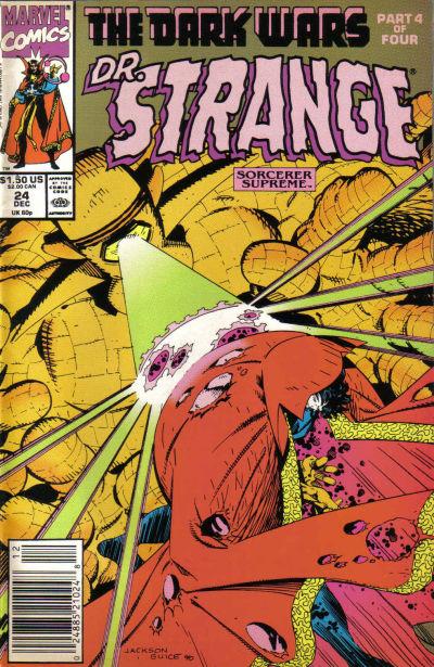 Cover for Doctor Strange, Sorcerer Supreme (Marvel, 1988 series) #24