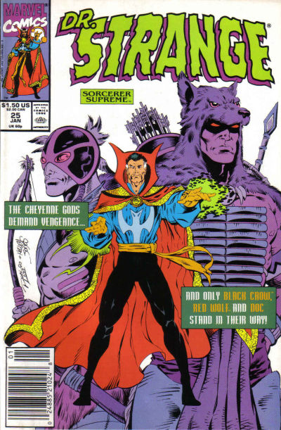 Cover for Doctor Strange, Sorcerer Supreme (Marvel, 1988 series) #25
