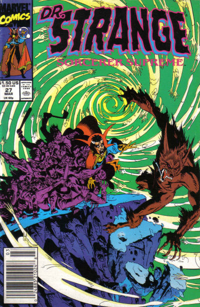 Cover for Doctor Strange, Sorcerer Supreme (Marvel, 1988 series) #27